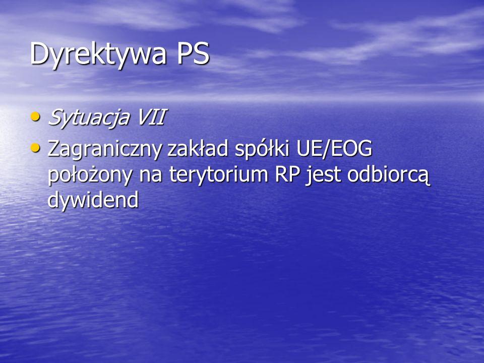 Dyrektywa PS Sytuacja VII