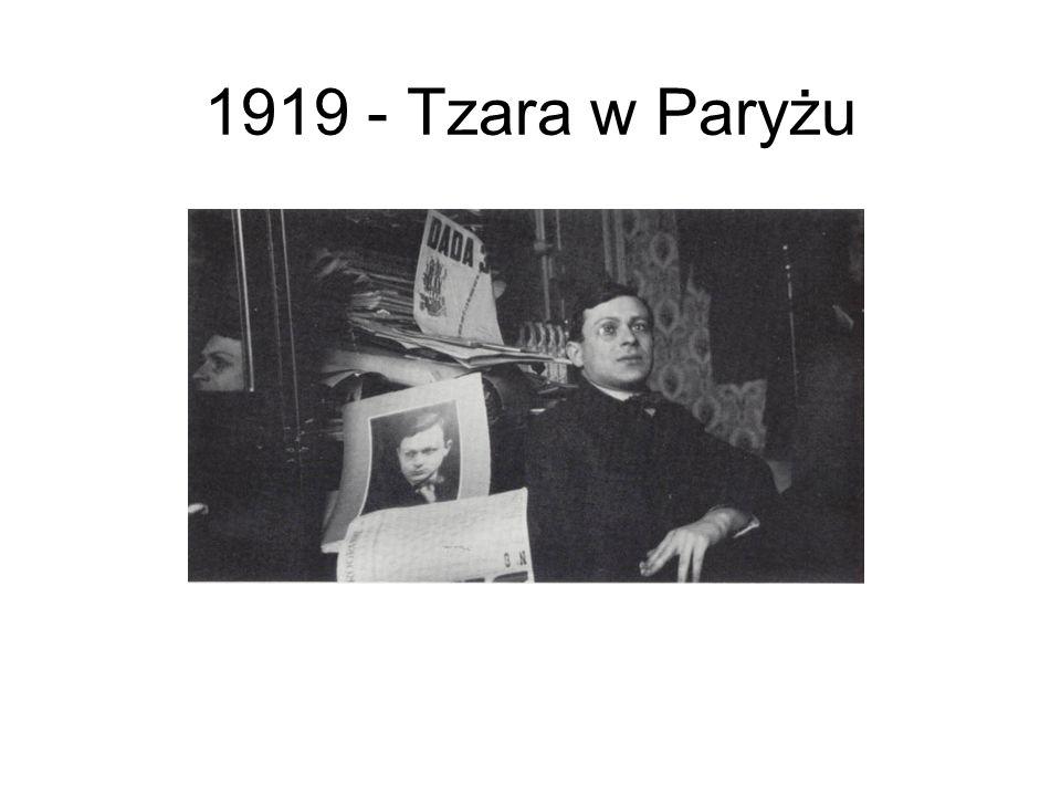 1919 - Tzara w Paryżu