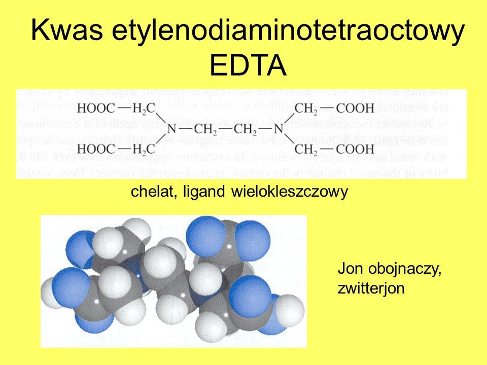 Kwas etylenodiaminotetraoctowy EDTA