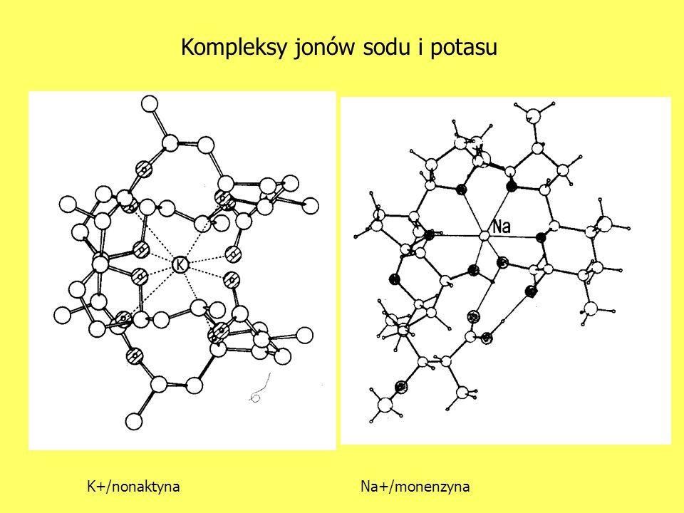 Kompleksy jonów sodu i potasu