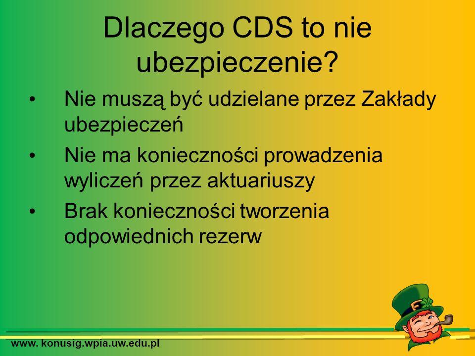 Dlaczego CDS to nie ubezpieczenie