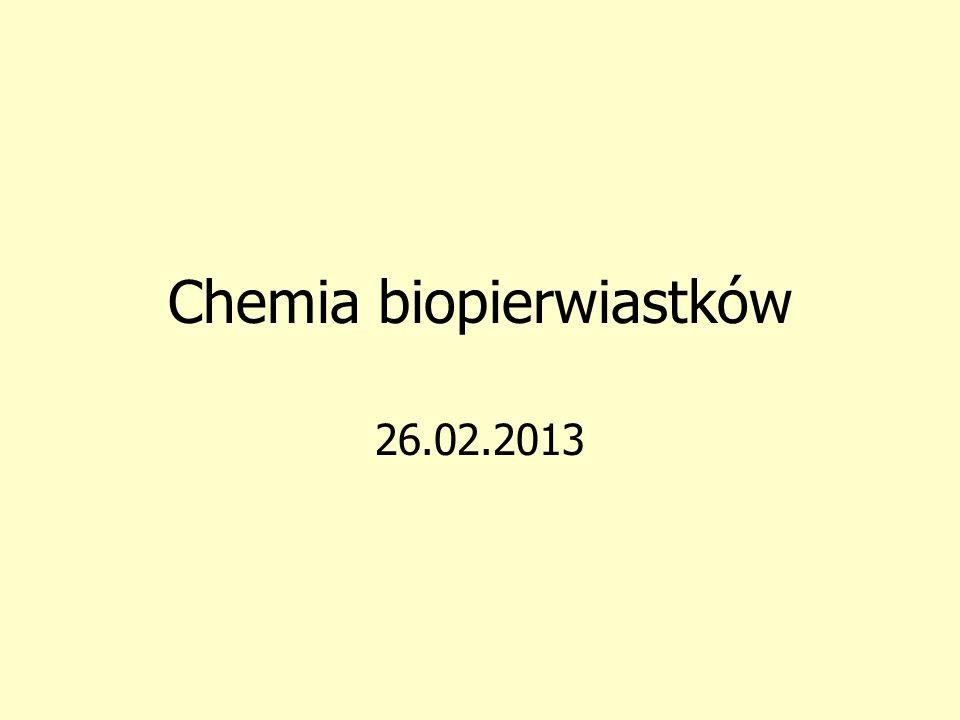 Chemia biopierwiastków