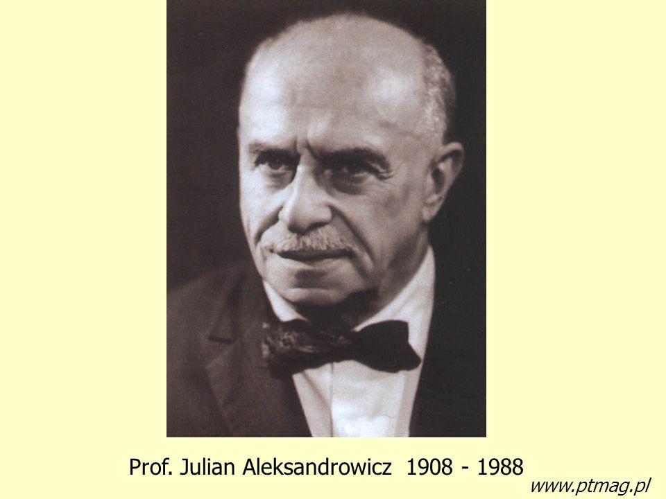 Prof. Julian Aleksandrowicz 1908 - 1988