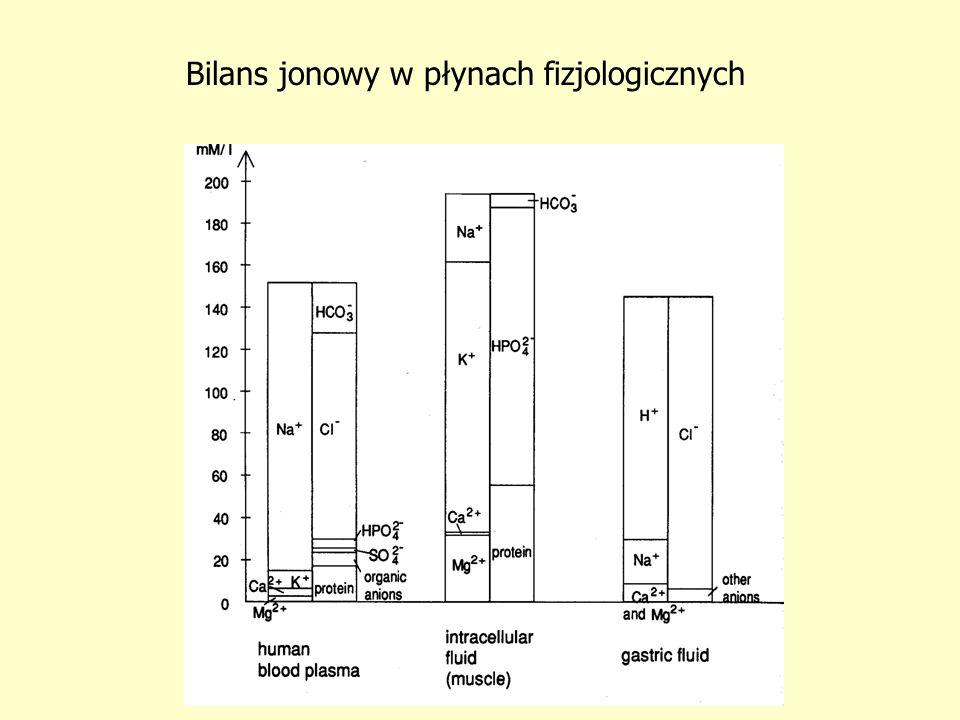 Bilans jonowy w płynach fizjologicznych