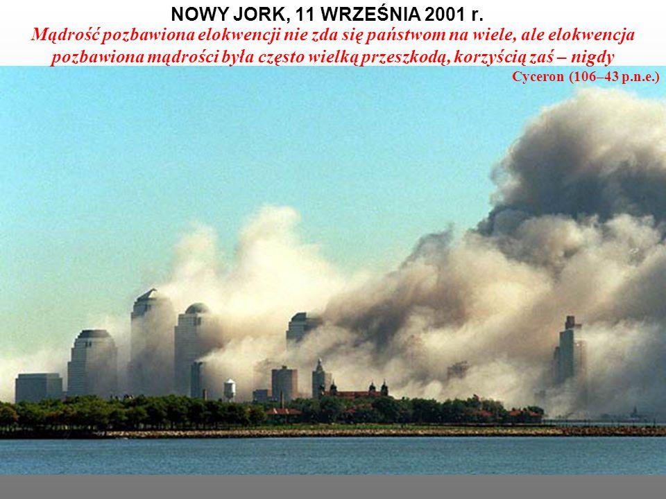 NOWY JORK, 11 WRZEŚNIA 2001 r.