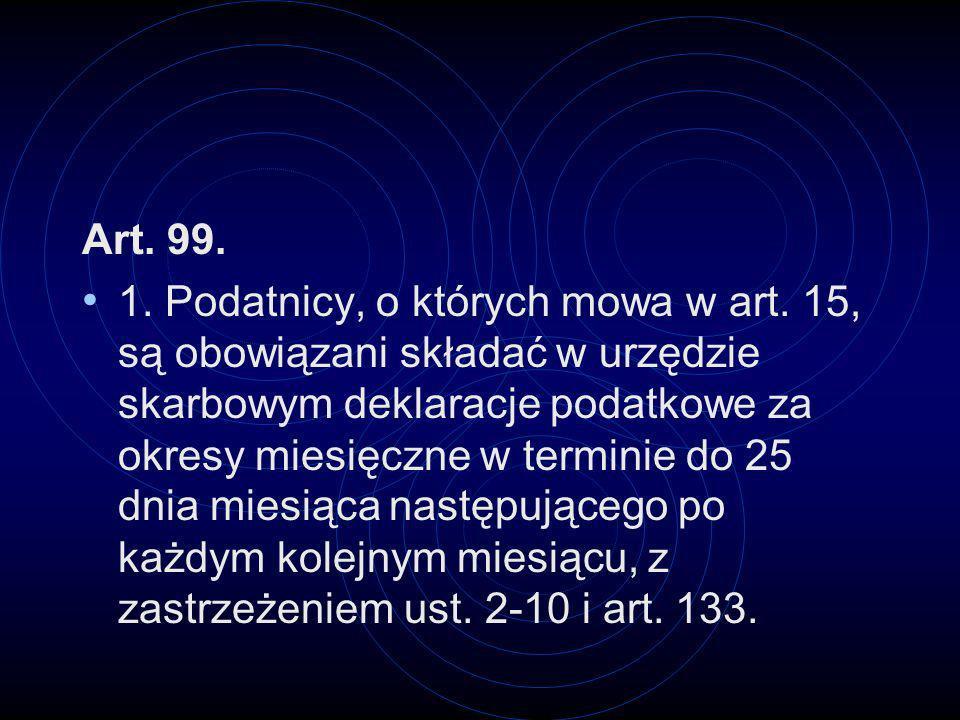Art. 99.