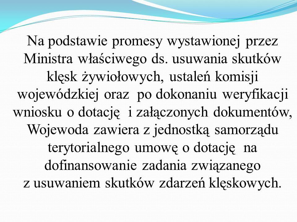 Na podstawie promesy wystawionej przez Ministra właściwego ds