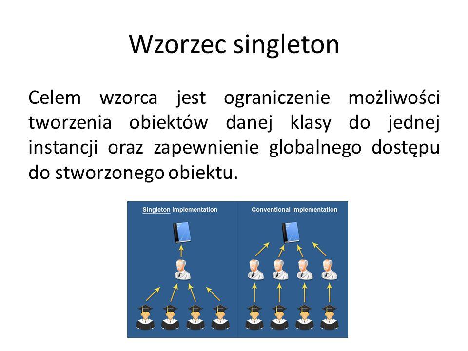 Wzorzec singleton