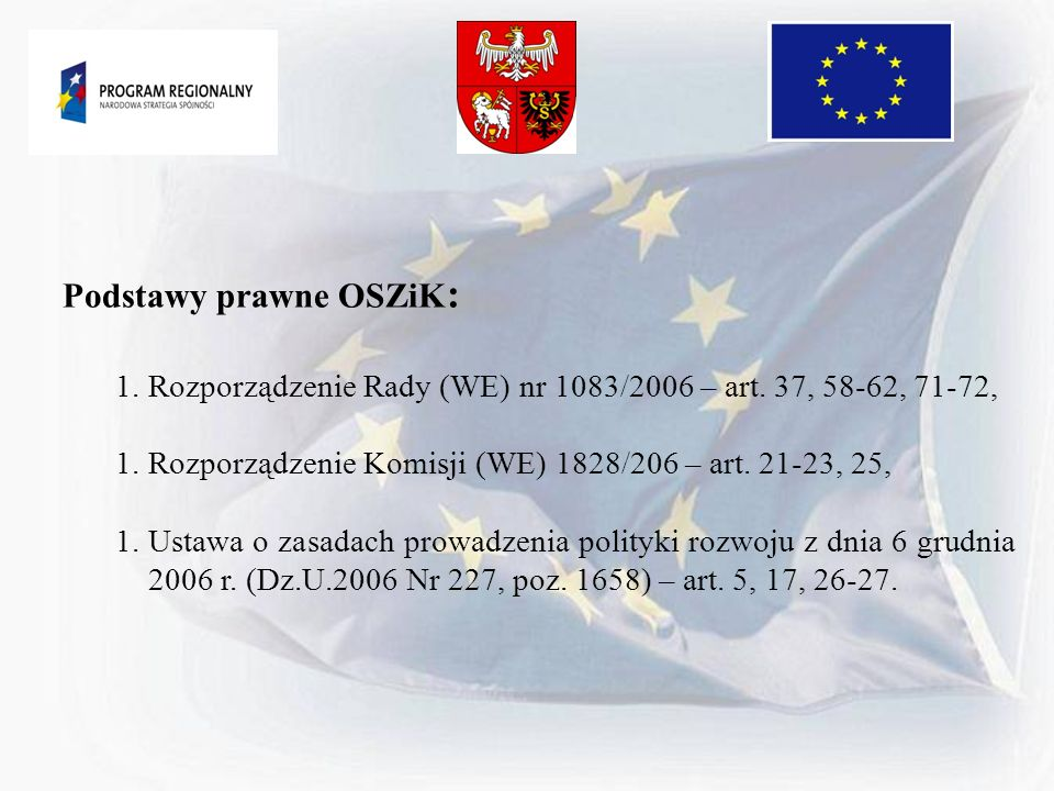 Podstawy prawne OSZiK: