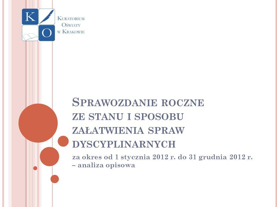za okres od 1 stycznia 2012 r. do 31 grudnia 2012 r. – analiza opisowa