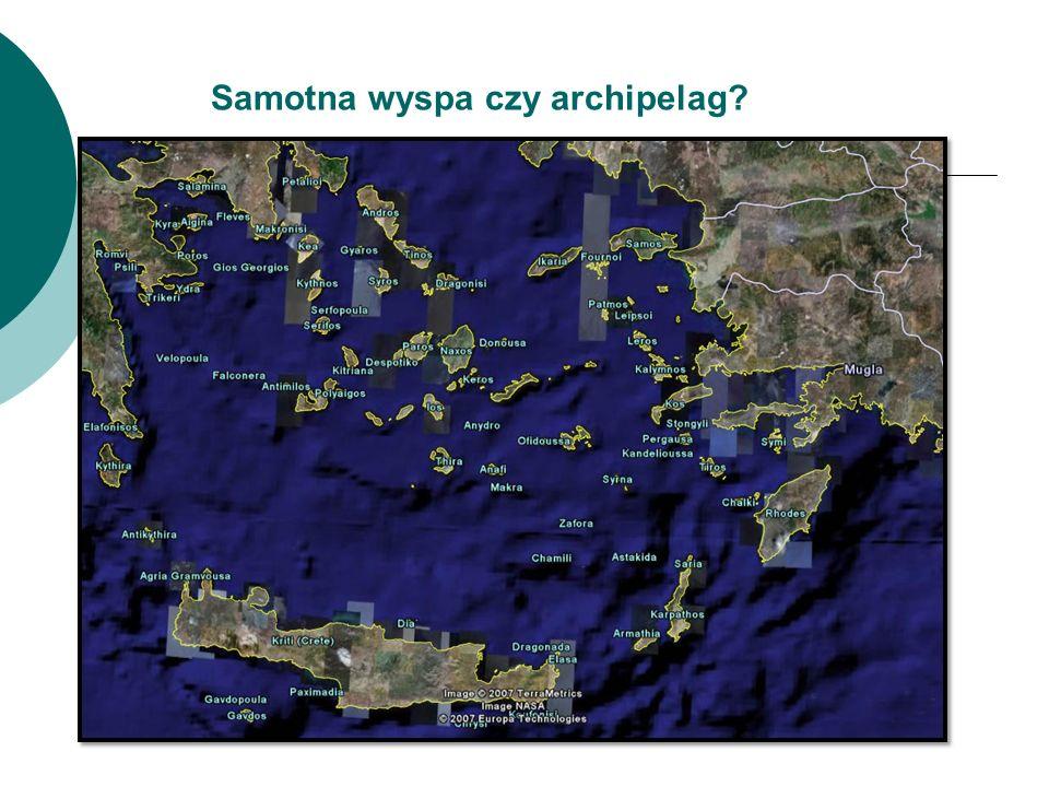 Samotna wyspa czy archipelag