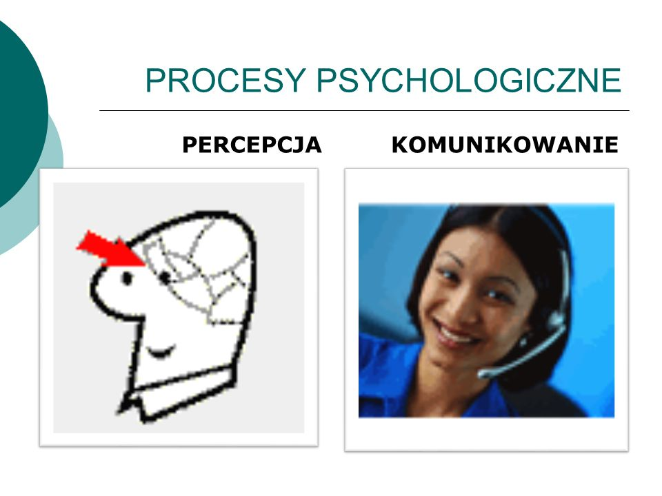 PROCESY PSYCHOLOGICZNE