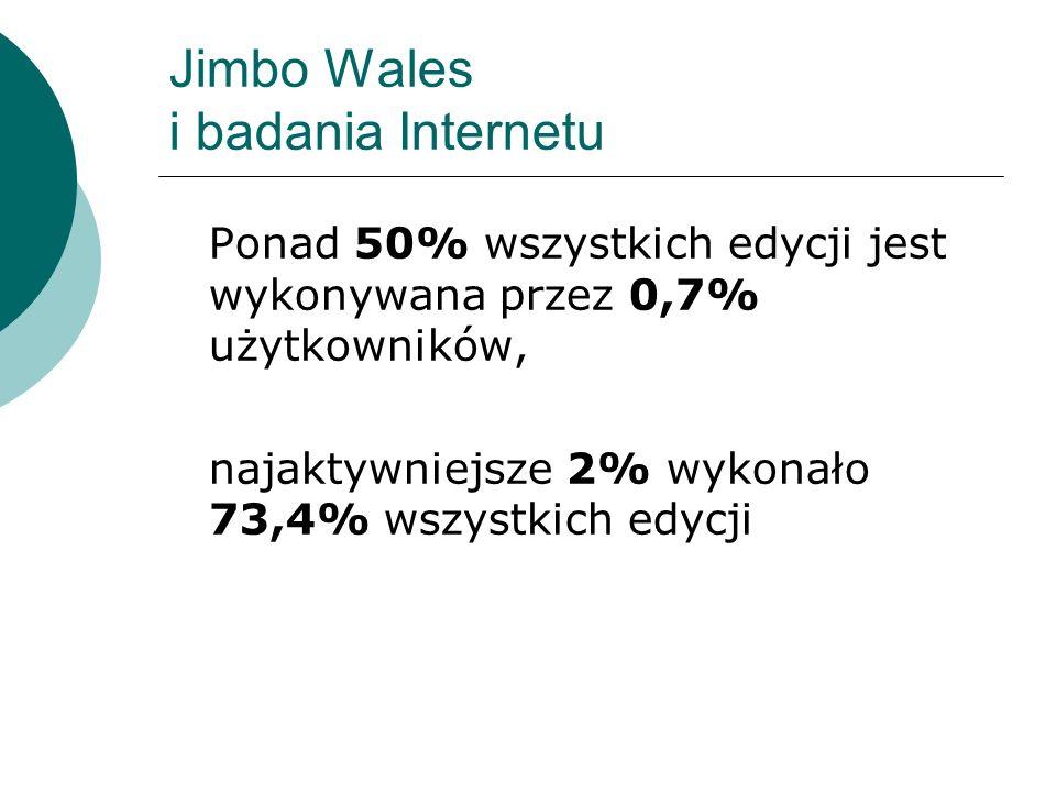 Jimbo Wales i badania Internetu
