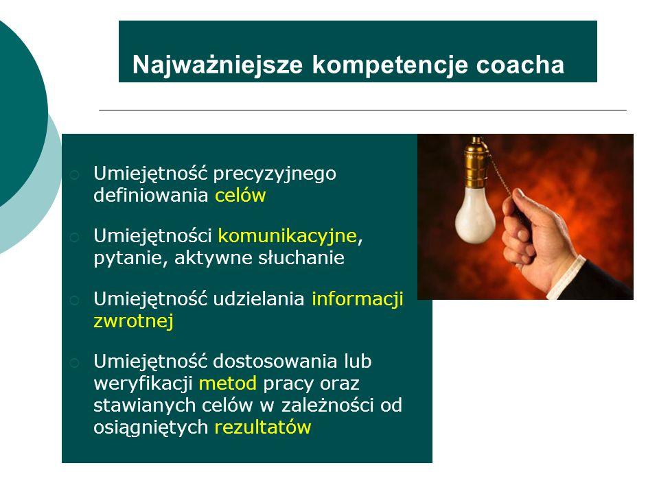 Najważniejsze kompetencje coacha