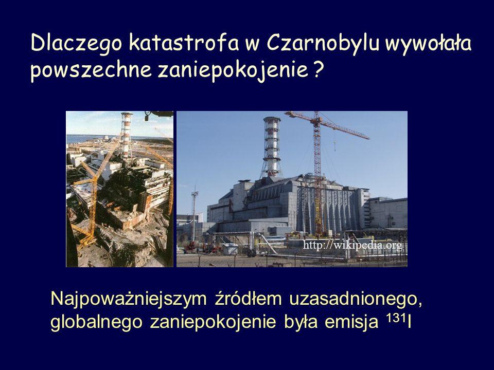 Dlaczego katastrofa w Czarnobylu wywołała powszechne zaniepokojenie