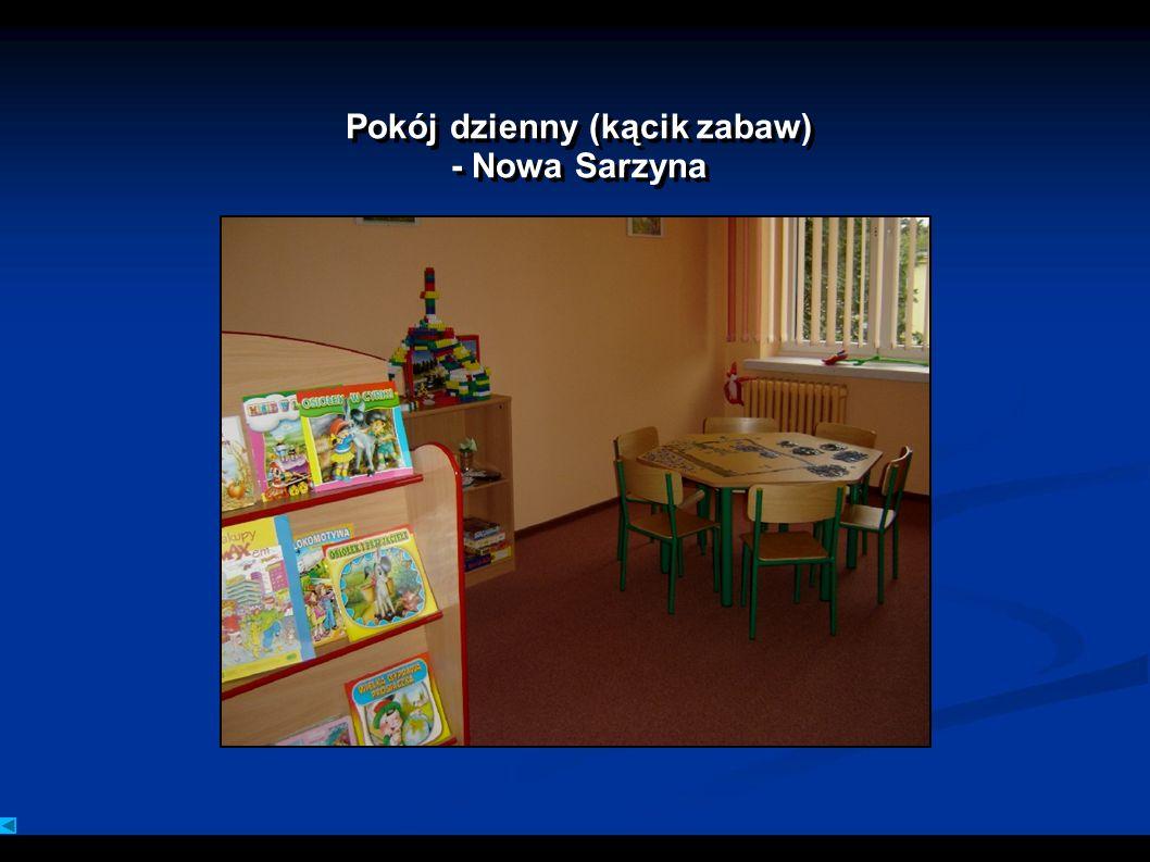 Pokój dzienny (kącik zabaw) - Nowa Sarzyna