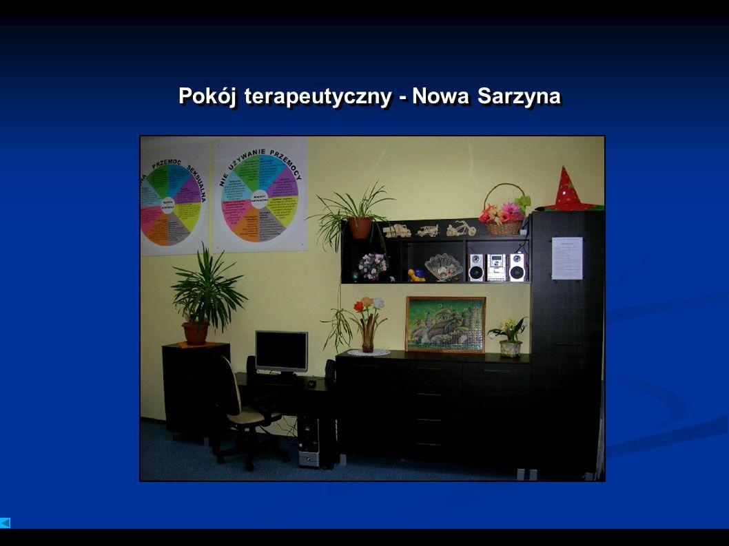 Pokój terapeutyczny - Nowa Sarzyna