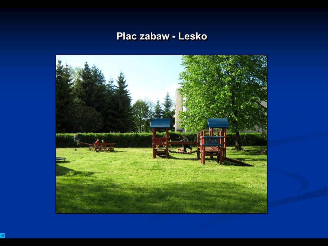Plac zabaw - Lesko