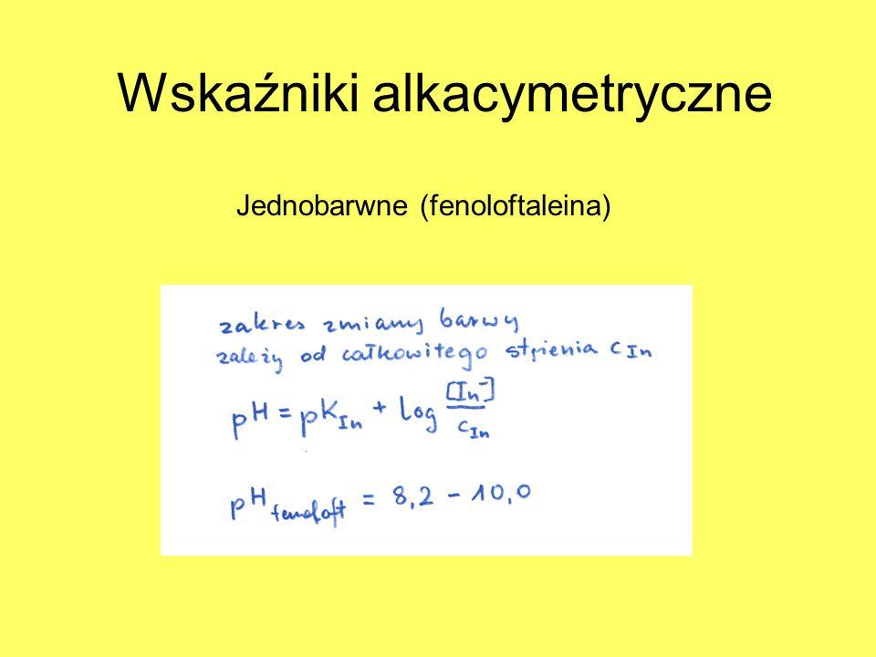 Wskaźniki alkacymetryczne