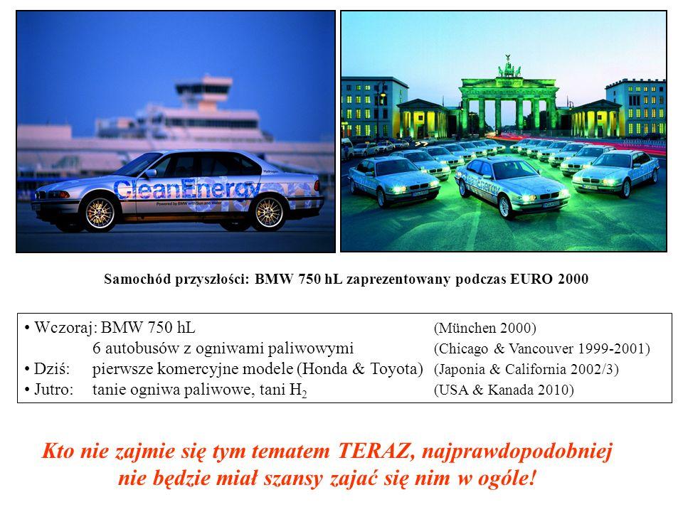 Samochód przyszłości: BMW 750 hL zaprezentowany podczas EURO 2000