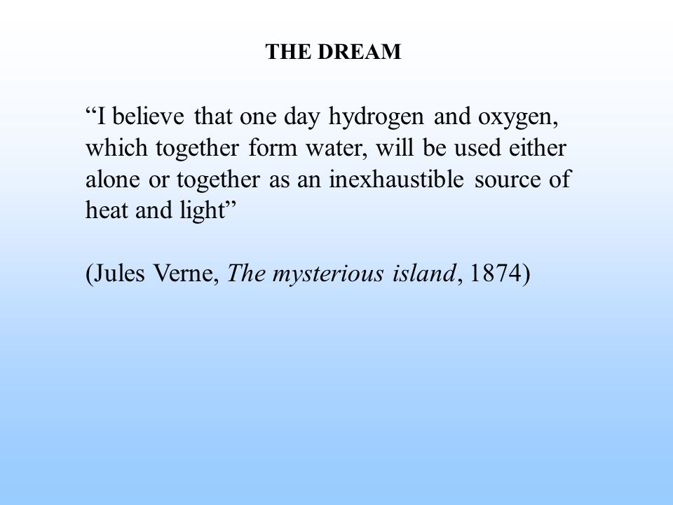 (Jules Verne, The mysterious island, 1874)