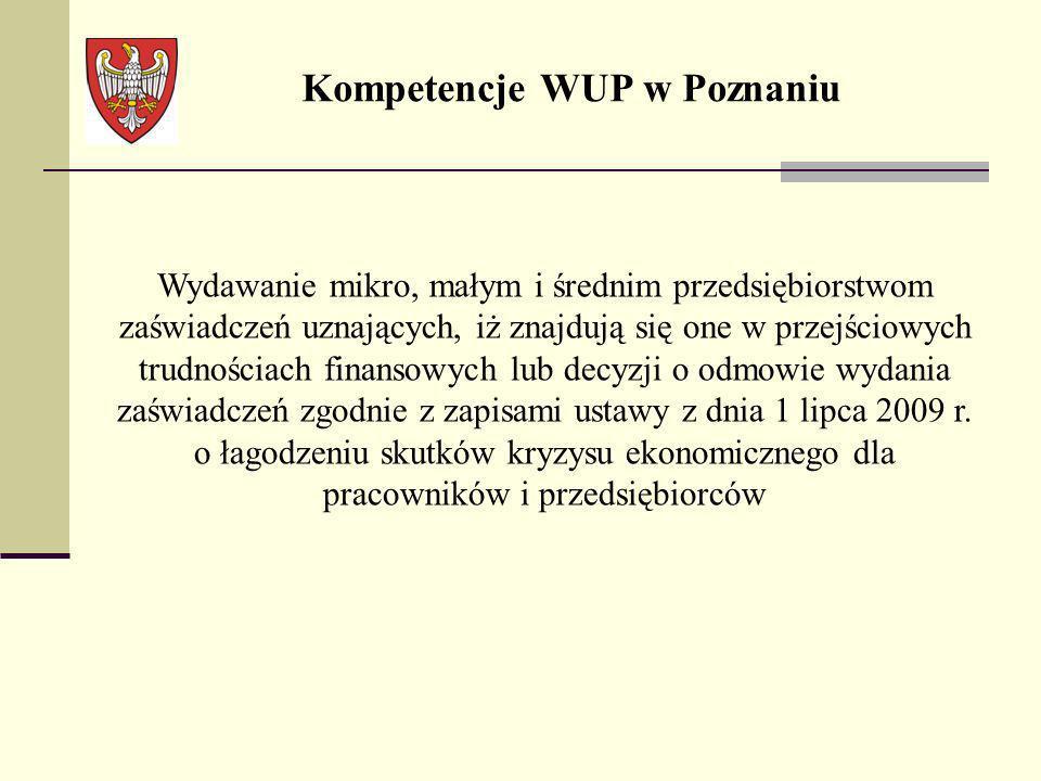 Kompetencje WUP w Poznaniu