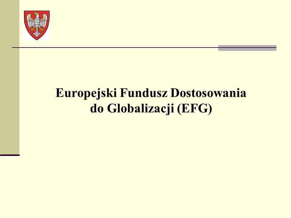 Europejski Fundusz Dostosowania