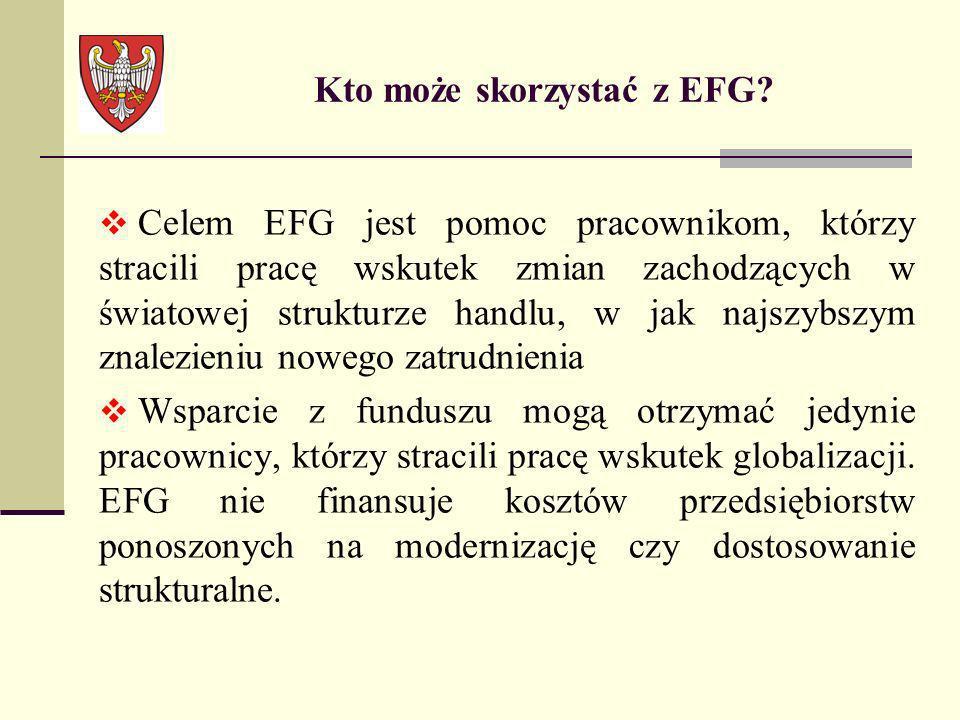 Kto może skorzystać z EFG