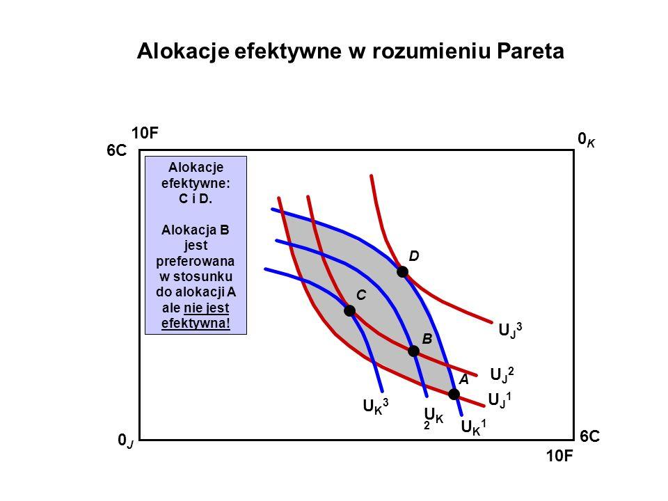 Alokacje efektywne w rozumieniu Pareta