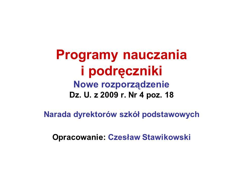 Opracowanie: Czesław Stawikowski