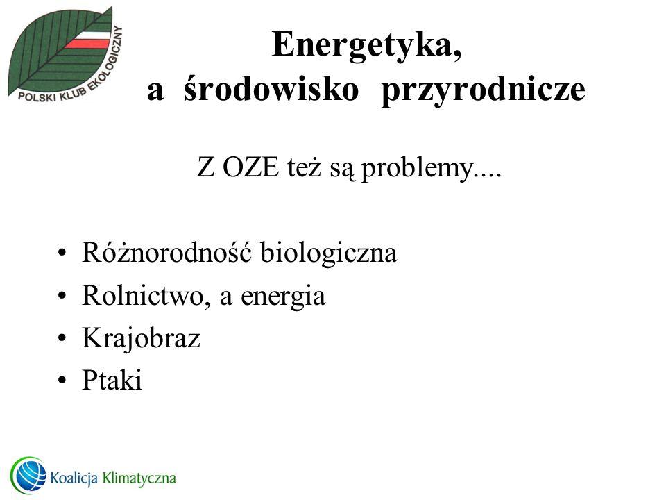 Energetyka, a środowisko przyrodnicze