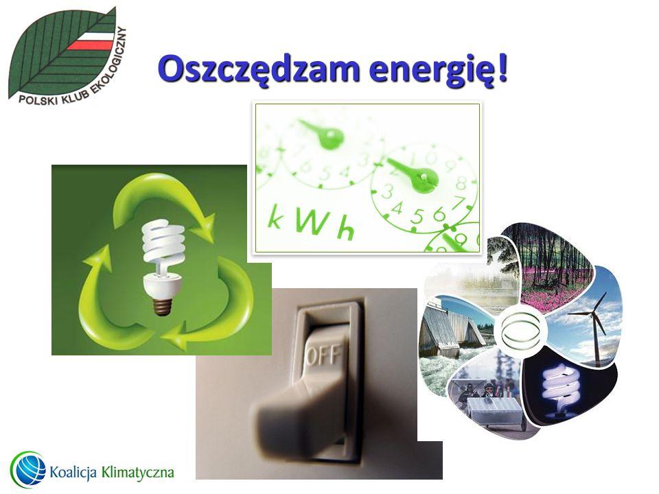 Oszczędzam energię!
