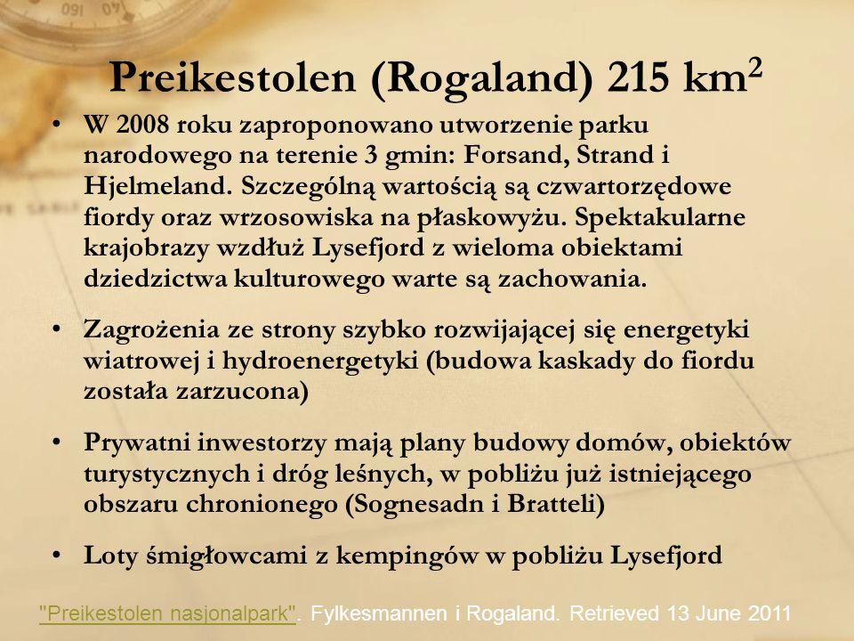 Preikestolen (Rogaland) 215 km2