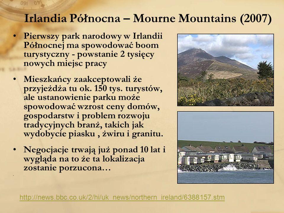 Irlandia Północna – Mourne Mountains (2007)