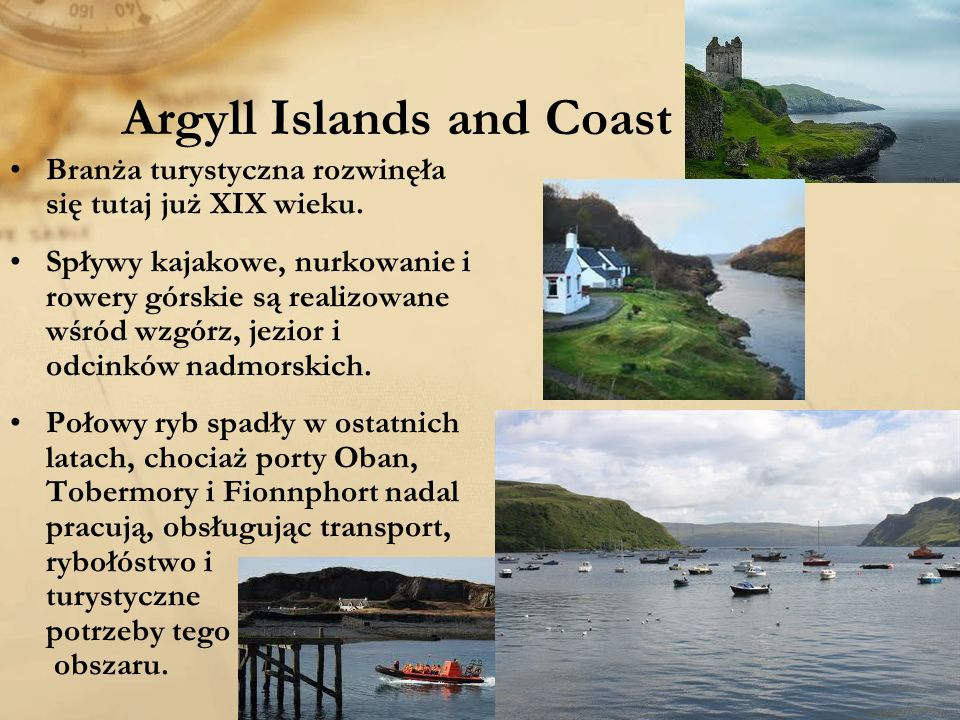 Argyll Islands and Coast