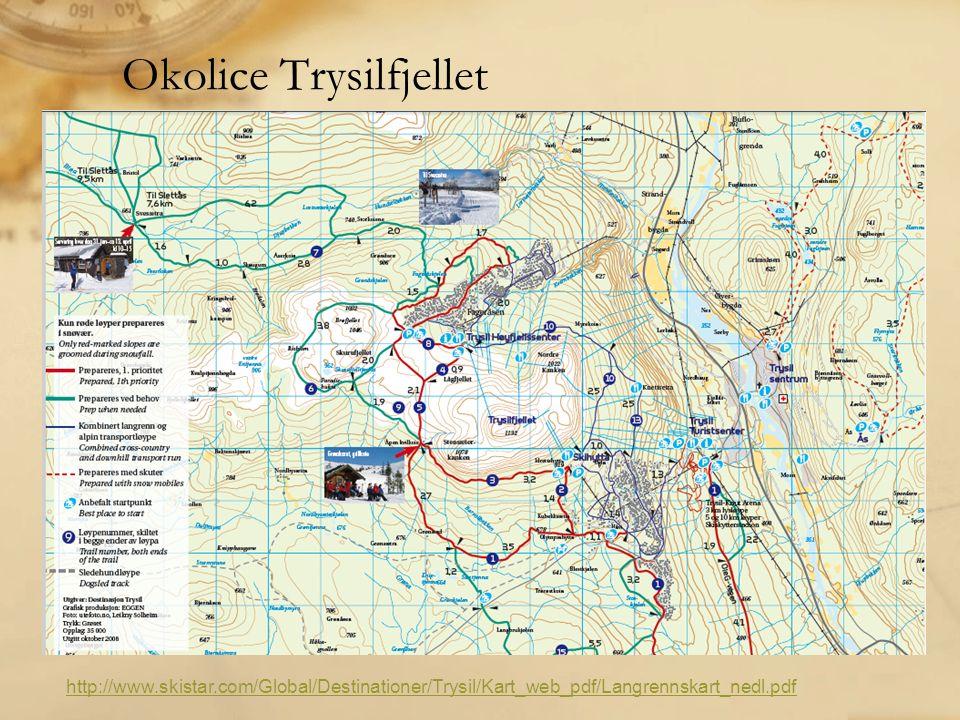 Okolice Trysilfjellet