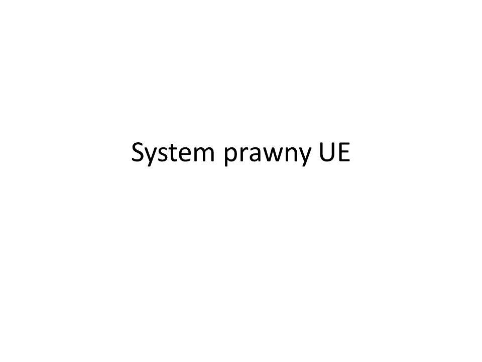 System prawny UE