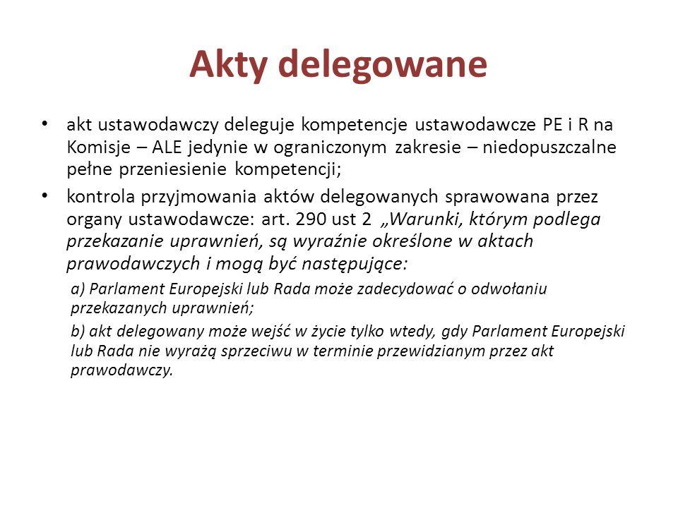 Akty delegowane