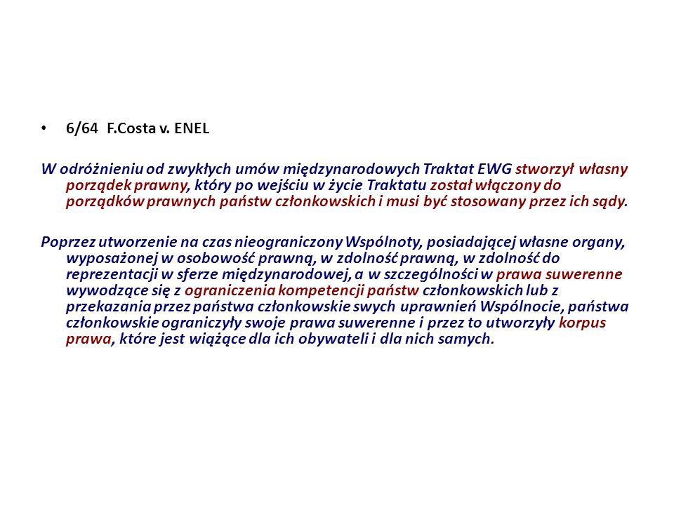 6/64 F.Costa v. ENEL