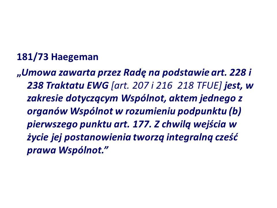 181/73 Haegeman
