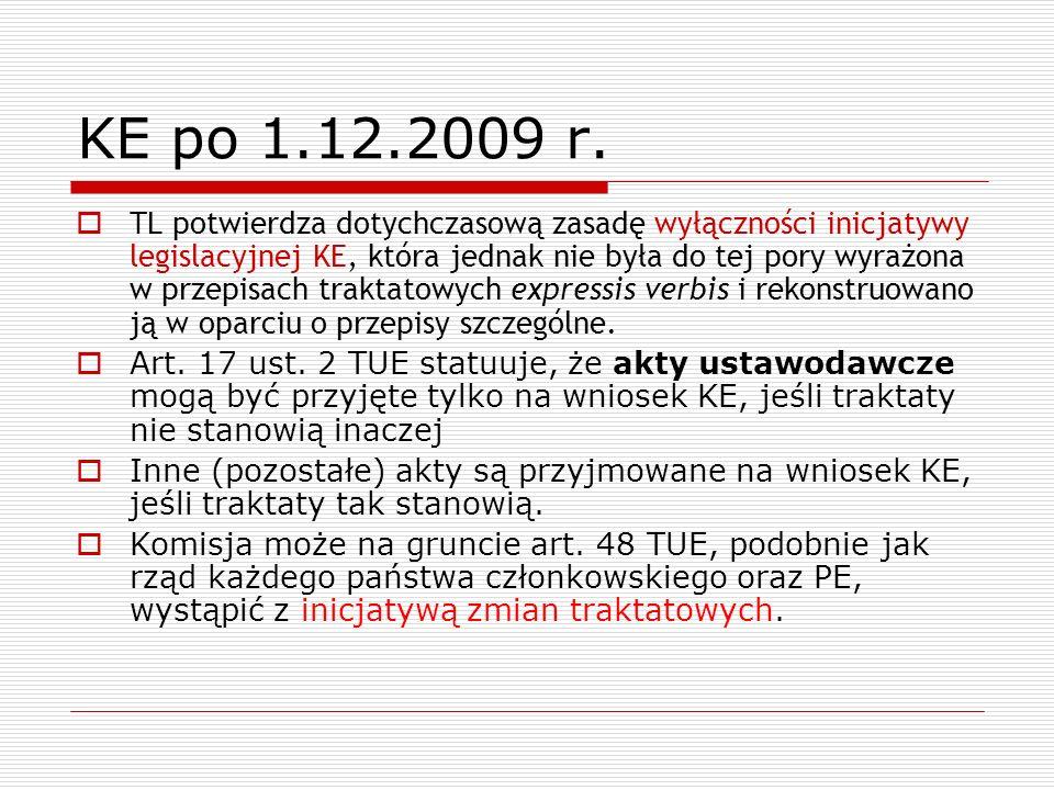 KE po 1.12.2009 r.
