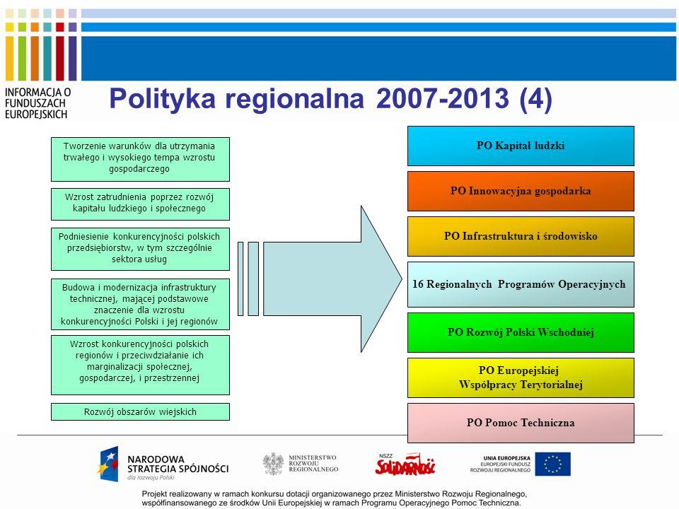 Polityka regionalna 2007-2013 (4)