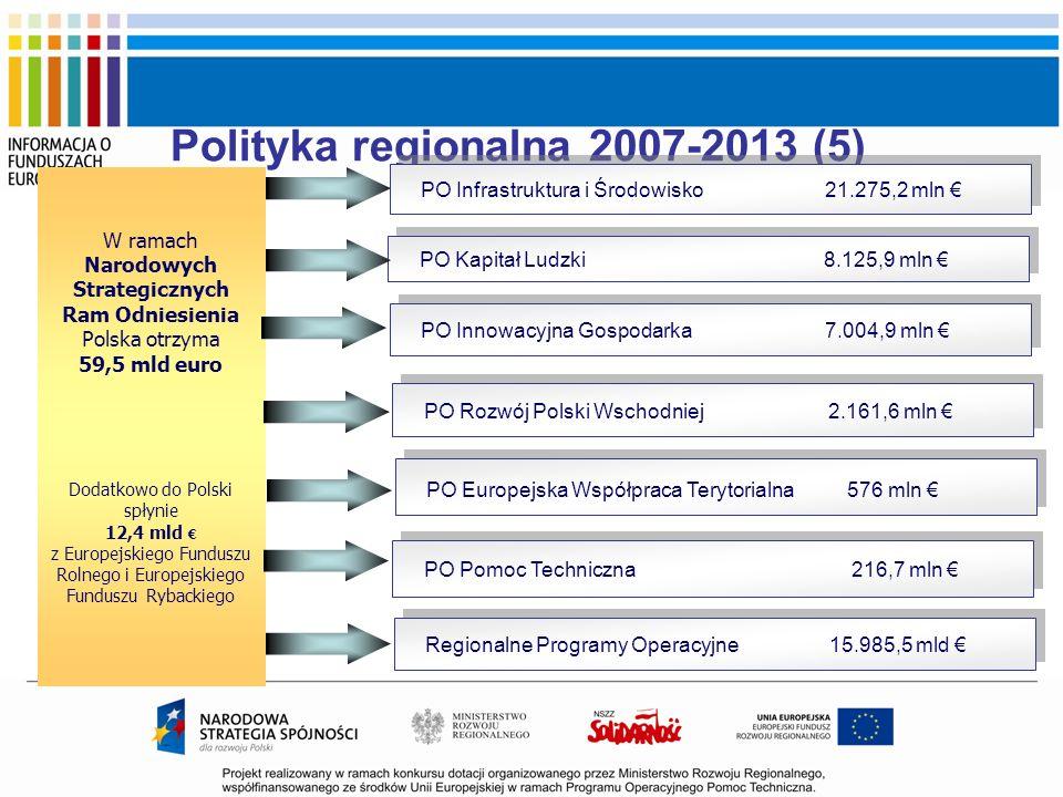 Polityka regionalna 2007-2013 (5)