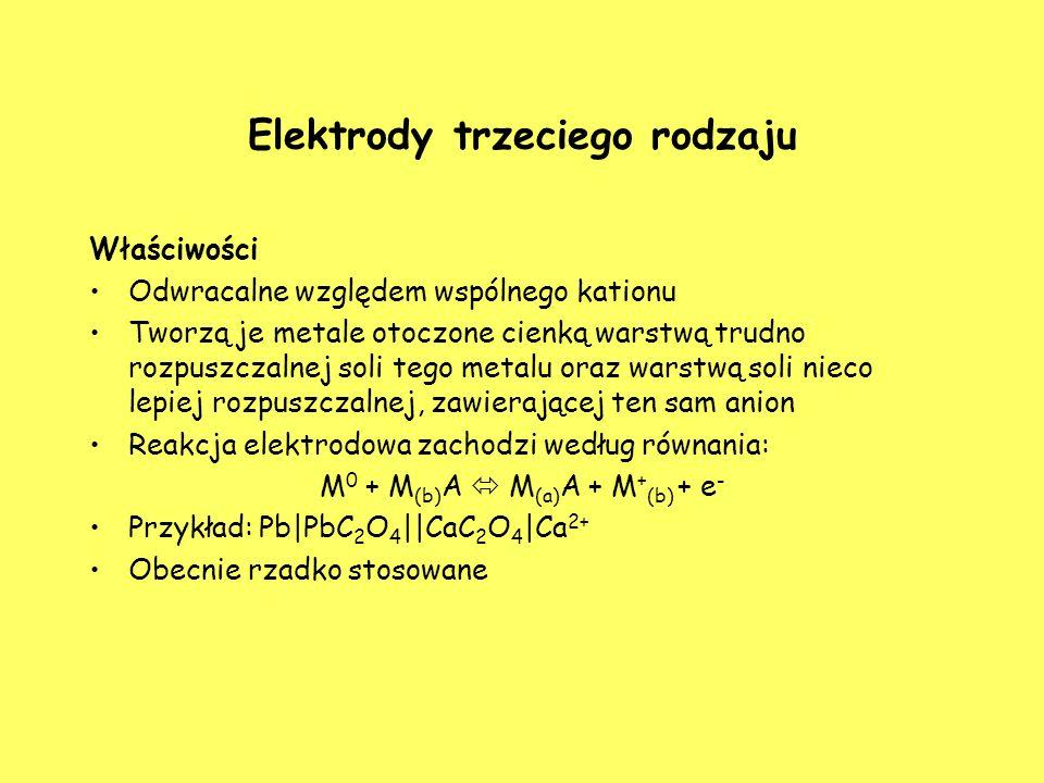 Elektrody trzeciego rodzaju