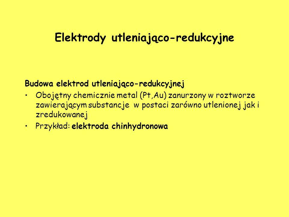 Elektrody utleniająco-redukcyjne