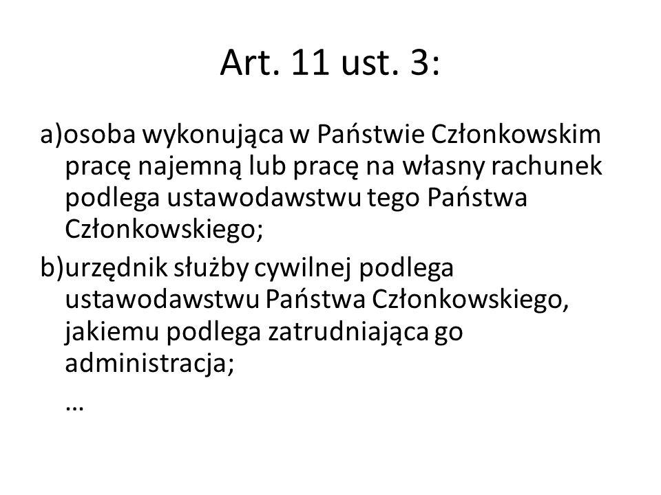 Art. 11 ust. 3: