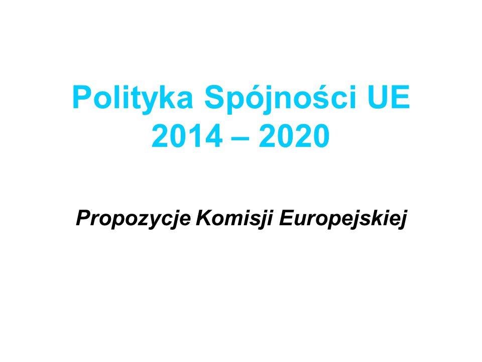 Polityka Spójności UE 2014 – 2020