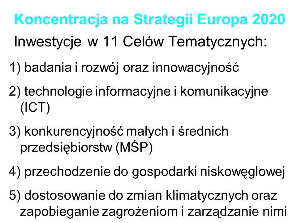 Koncentracja na Strategii Europa 2020