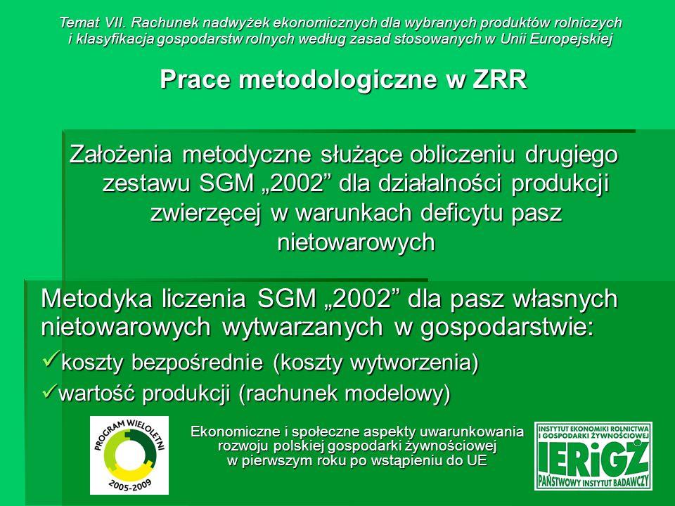Prace metodologiczne w ZRR