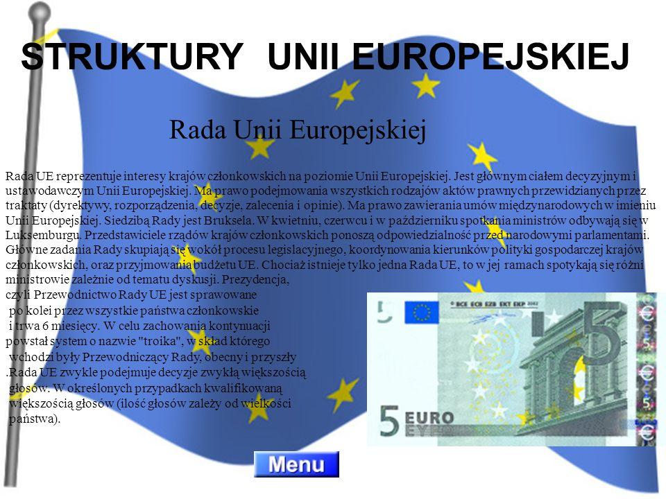 STRUKTURY UNII EUROPEJSKIEJ